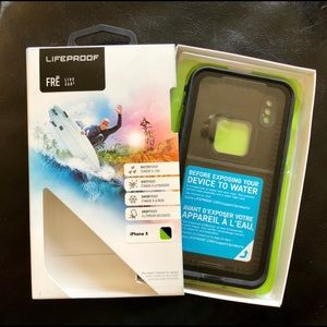 NEW Lifeproof Fre LIVE 360 Case for iPhoneX